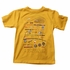 Wes & Willy Boys Bold Gold Fishing Things Tee Shirt