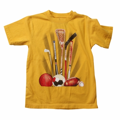 Wes & Willy Boys Bold Gold Shirt - All Sports Equipment