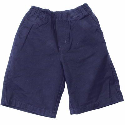 Wes & Willy Boys Elastic Waist Pull On Shorts - Midnight Blue