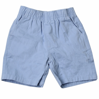 Wes & Willy Boys Elastic Waist Pull On Shorts - NC Blue