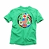 Wes & Willy Boys Green World Soccer T-Shirt