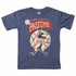 Wes & Willy Boys Midnight Blue Shirt - National Pastime Baseball