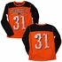 Wes & Willy Boys Orange / Black #31 Halloween Pumpkin Smashers Jersey Shirt