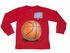 Wes & Willy Boys Red Balls in Your Court Basketball Tee Shirt