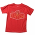 Wes & Willy Boys Red Tee Shirt - Baseball Glove - What a Catch