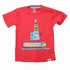 Wes & Willy Boys Red Top Dog Tee Shirt