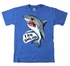 Wes & Willy Boys Royal Blue Shirt - I Am Smiling Shark