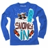 Wes & Willy Boys Snowboard Raccoon Snowed In Shirt