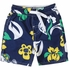 Wes & Willy Collegiate Boys Floral Swim Trunks - Navy Blue Notre Dame
