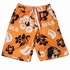Wes & Willy Collegiate Boys Floral Swim Trunks - Orange Tennessee Vols