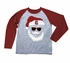 Wes & Willy Collegiate Boys Gray / Maroon Santa Claus Shirt - Univ. of South Carolina Gamecocks