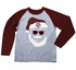 Wes & Willy Collegiate Boys Gray / Maroon Santa Claus Shirt - Texas A & M