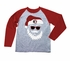Wes & Willy Collegiate Boys Gray / Maroon Sleeved Santa Claus Shirt - FSU Florida State Seminoles