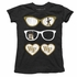 Wes & Willy Collegiate Girls Summer Sunglasses Shirt - Black Wake Forest WFU Demon Deacons