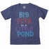 Wes & Willy Infant / Toddler Boys Midnight Blue Big Fish in a LIttle Pond T-Shirt