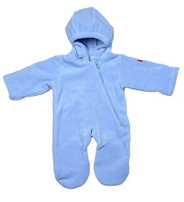 d4d9cf82f Widgeon Warm Plus Baby Boys Fleece Bunting Suit - Blue