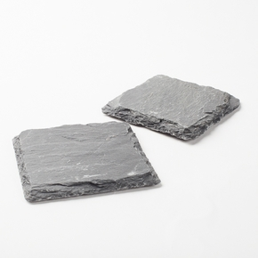 4 Slate Coasters  4x4 - Click to enlarge