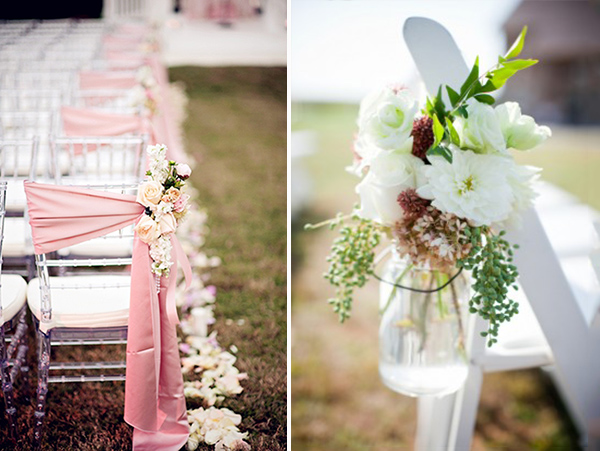 Top 5 ways to decorate your wedding aisle for Aisle decoration for wedding