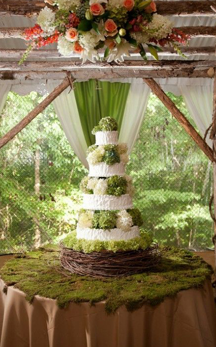 10 Ways To Decorate With Green Moss: Top 8 Moss Wedding Ideas