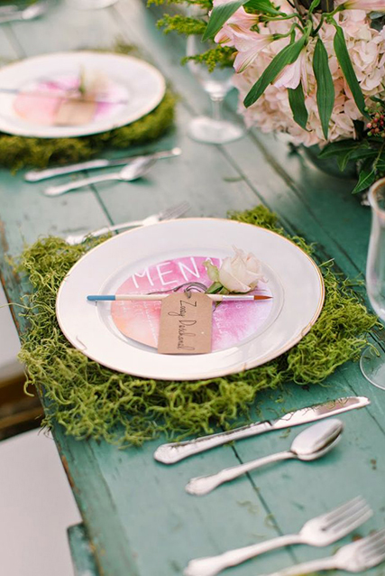 Top 8 moss wedding ideas for Save on crafts wedding