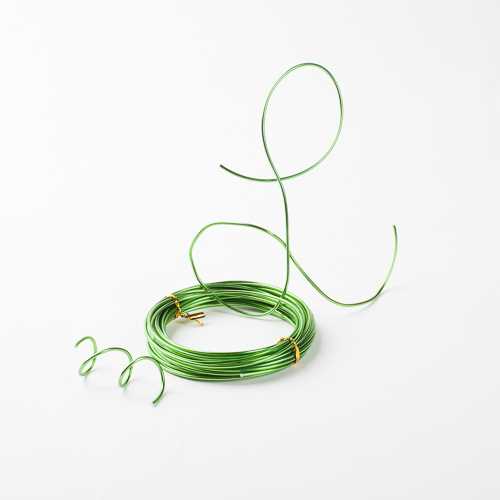 Aluminum Wire Apple Green 24ft