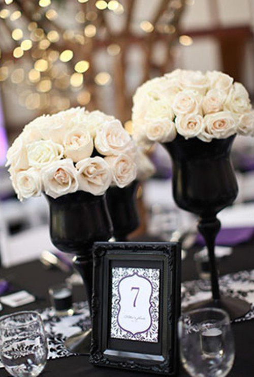 Top 9 black and white wedding ideas save on crafts black and white wedding ideas mightylinksfo