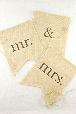 Banners for Save on crafts burlap