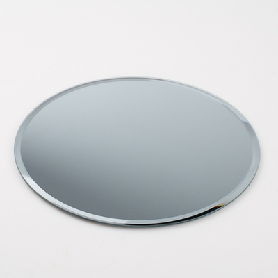 "Ten 10"" Round Glass Table Mirrors, Bulk Buy"