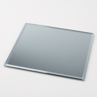 "20 Beveled Edge 8"" Square Glass Centerpiece Table Mirrors, Bulk Buy"