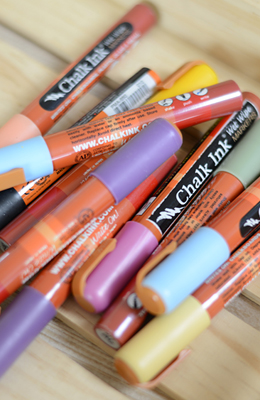 Chalk Markers & Glass Markers