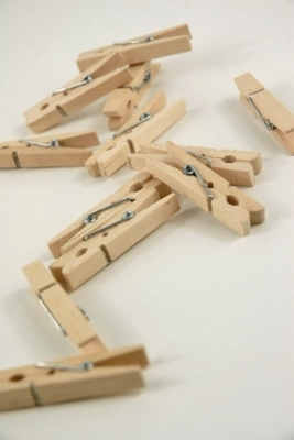 Clothes Pins, Paper Clips, Alligator Clips