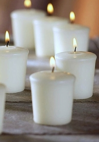 Discount votive candles - Click to enlarge