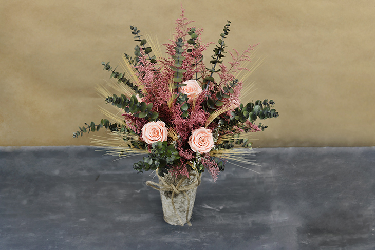 Diy dried flower arrangement save on crafts for Dried flowers for crafts