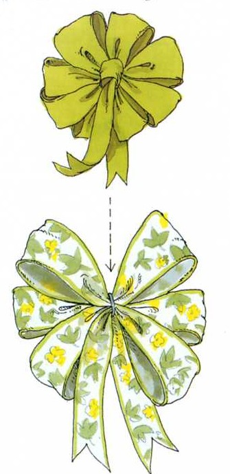 DIY How to make a Layered Bow