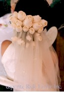DIY:How to make floral barrettes, combs and headpieces for your wedding