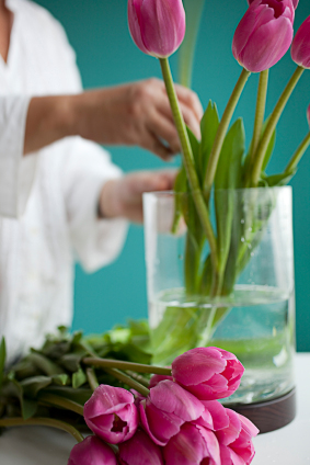 DIY Preparing Containers for your arrangements