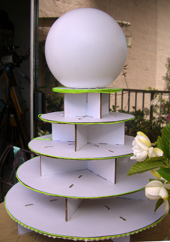 How to decorate a Cupcake Tree with El Wire & Lighted Orb