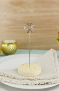 Place Card Holders, Table Numbers, Displays - Click to enlarge