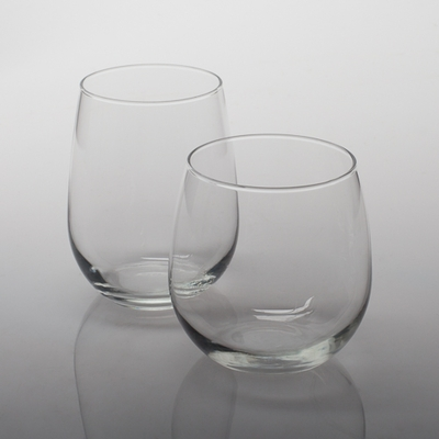 Eastland Stemless Wine Glasses Set of 12