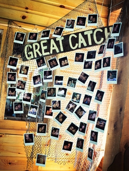 Fish nets for Fish net decoration ideas
