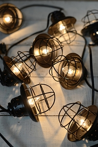 Cafe String Lights Battery Operated : Rope Lights & Tubes