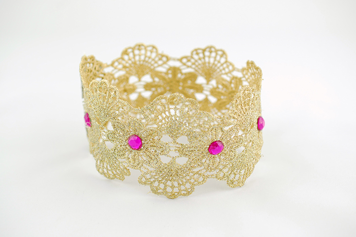 How to Make a Lace Crown