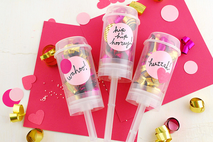 How to Make Party Poppers