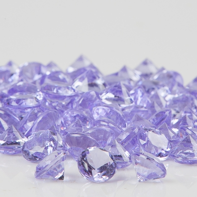 Acrylic Diamonds Lavender Vase Filler (12 Bags)