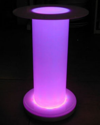 Lighted Risers