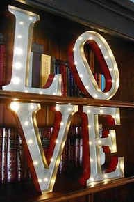 Marquee Letters and Marquee Signs with Lights - Click to enlarge