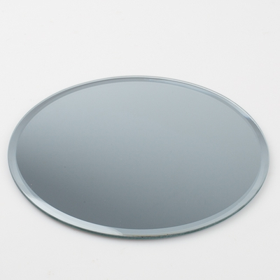 "Ten - 8"" Round Centerpiece Table Mirrors  (10 pk)"
