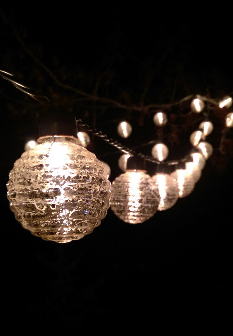 Outdoor string lights Outdoor string lighting