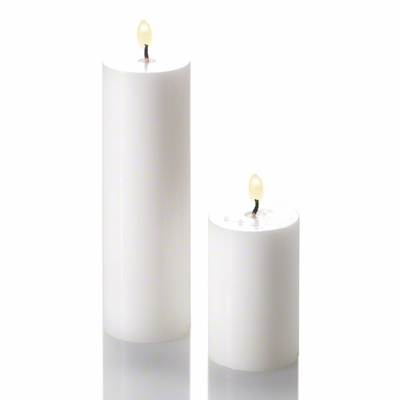 "Pillar Candle 2"" Set of 20"