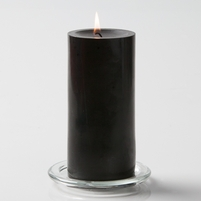 "Pillar Candles 3"" x 6"" Set of 6"